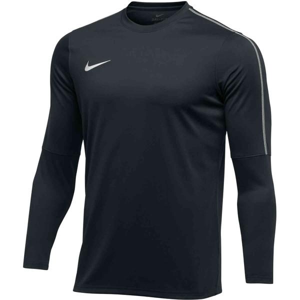 Nike Women's Park 18 Crew Top - Black/White