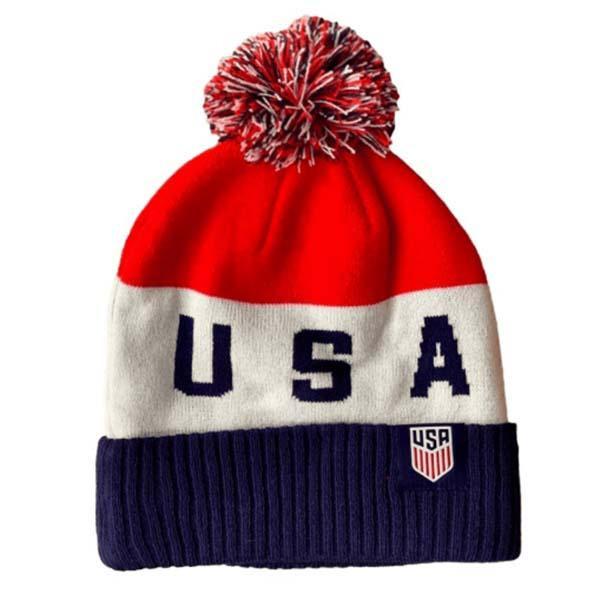 Nike U.S. Soccer Pom Beanie - IMAGE 1