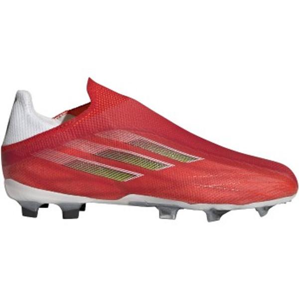 adidas X Speedflow+ FG JR - Red/Black/Solar Red