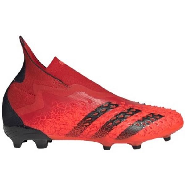 adidas Predator Freak + JR FG - Red/Core Black