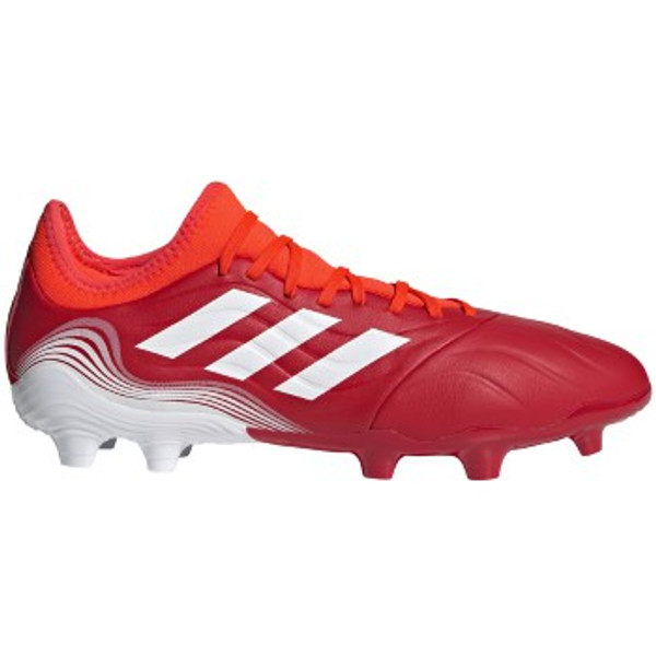 adidas Copa Sense.3 FG - Solar Red/White