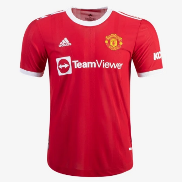 adidas Youth Manchester United Home Jersey 21/22