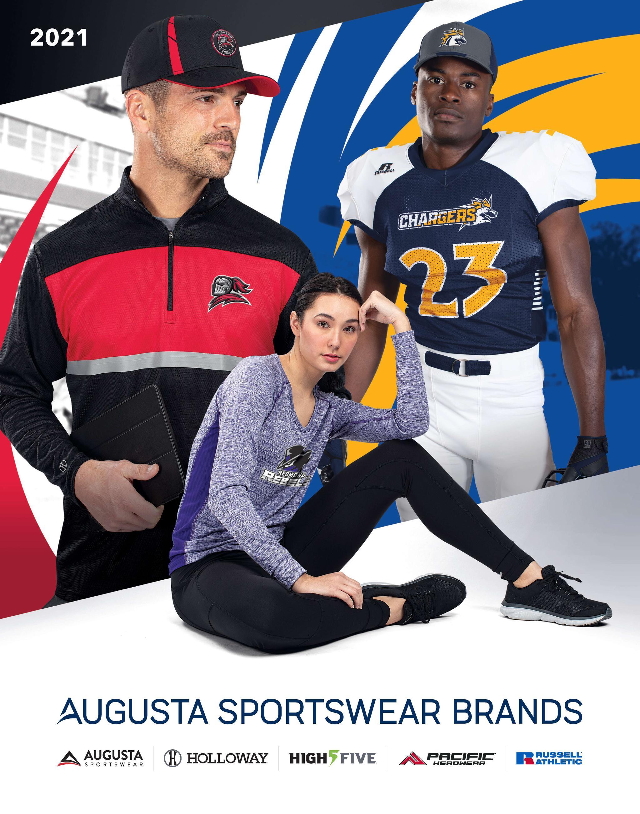 Augusta Sports Brands Unisex 2020 Catalog