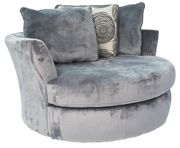 8642/1025 Jamba Smoke Swivel Chair
