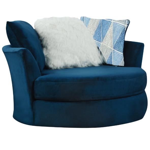 8642/1025 Jamba Navy Swivel Chair