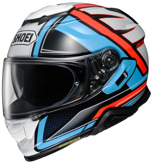 SHOEI GT-AIR II LI HASTE TC-2 HELMET