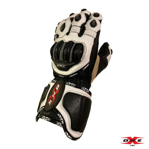 ONEX USA PRO RACE GLOVES - WHITE