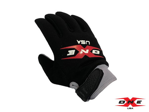 ONEX USA MECHANIC PADDOCK GLOVES - BLACK
