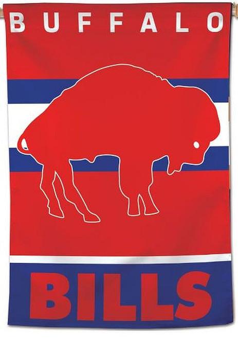 NFL Buffalo Bills 1-SIDED CLASSIC  RETRO House Flag