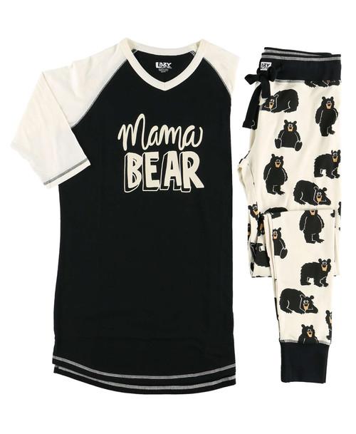 Mama Bear pajamas lazy one