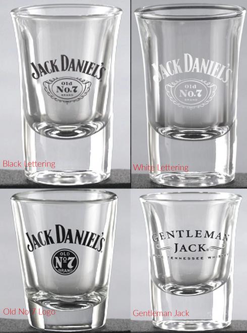jack daniels shot glasses