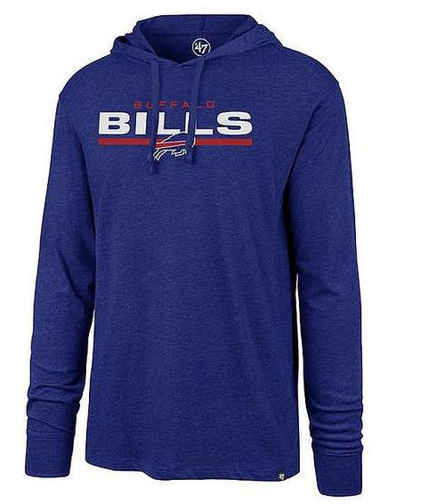 Buffalo Bills Royal End Line Club Hoodie