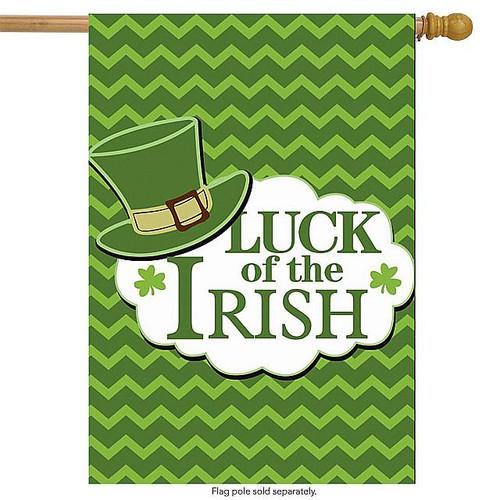 Luck of the Irish House Flag