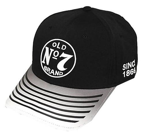 Jack Daniels Striped Bill Hat