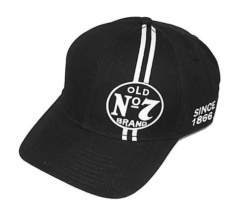 Jack Daniels Old No 7 Striped Hat