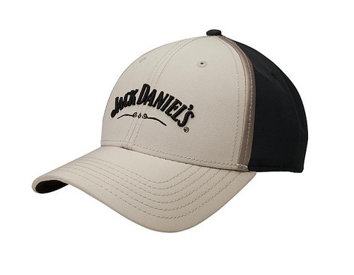 Jack Daniels Black Khaki Hat
