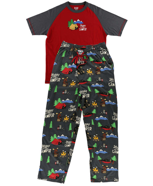 Happy Camper Men's Pajamas by Lazy One