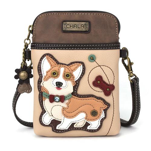 Corgi Cell Phone Crossbody Bag