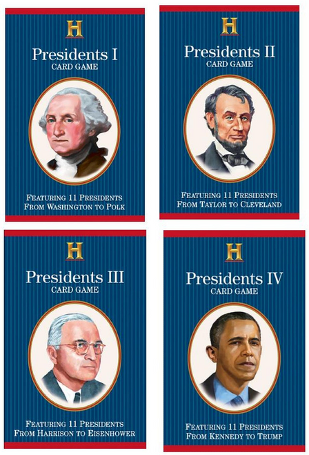 Presidents Card Game Playing Cards