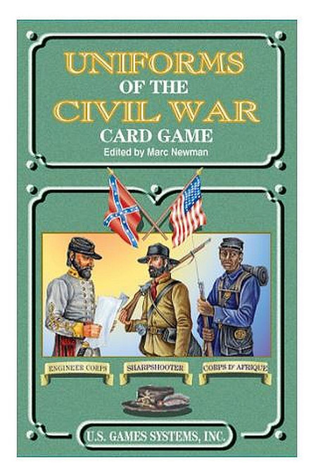 Uniforms of the Civil War Playing Cards
