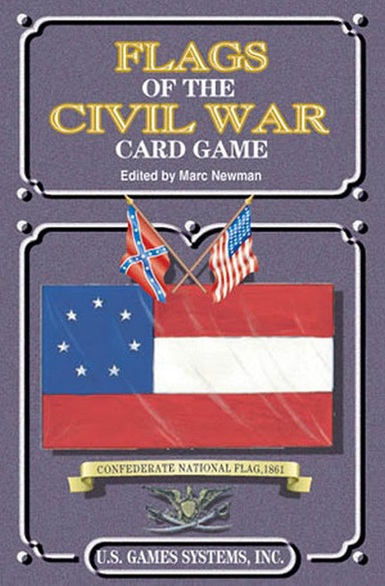 Famous Flags of the Civil War Playing Cards