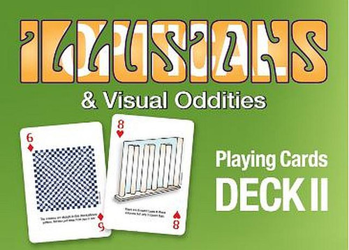 Optical Illusions & Visual Oddities Deck II Playing Cards