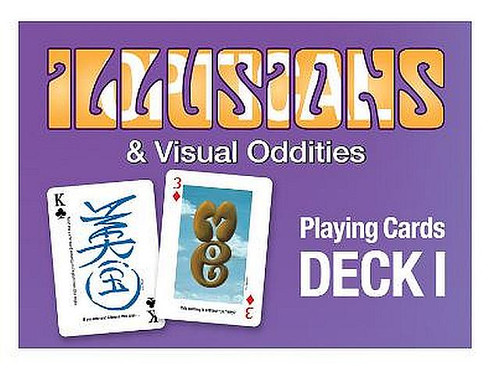 Optical Illusions & Visual Oddities Deck I Playing Cards