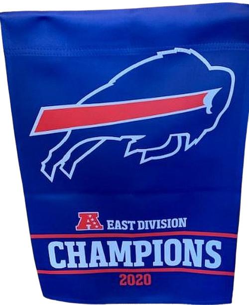 Buffalo Bills AFC East 2020 Champions Garden Flag