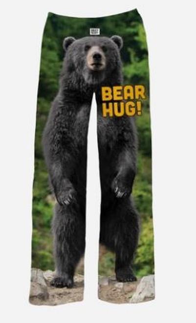 Back bear pajama lounge pants