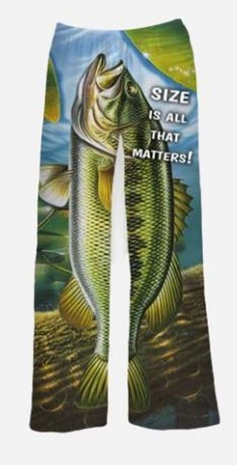 Size Matters  Fish Pajama Pants