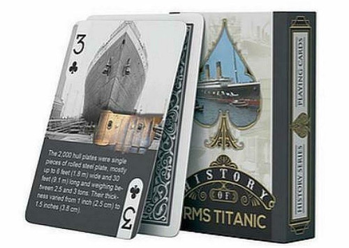 HISTORY OF RMS TITANTIC PLAYING CARDS