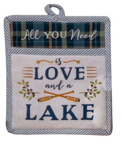 Kay Dee Pocket Mitt All I Need Is Love And A Lake