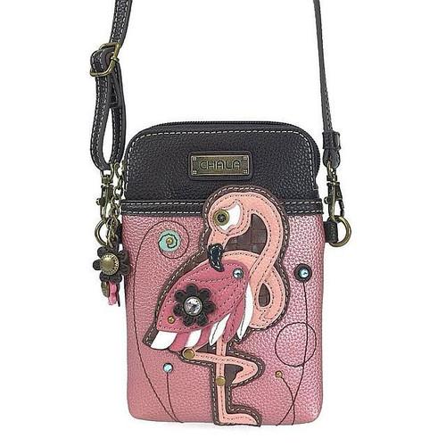 Flamingo Cell Phone Xbodyby Chala Handbags