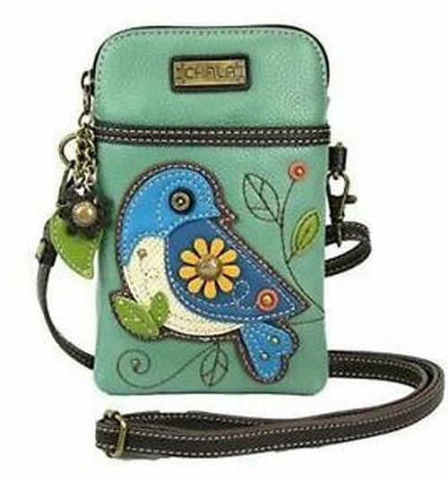 Blue Bird Cell Phone Xbodyby Chala Handbags
