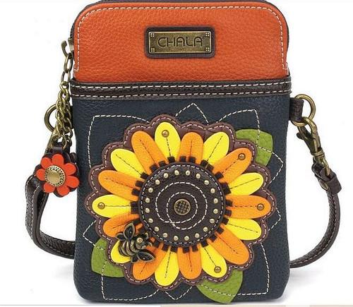 Sunflower Cell Phone Xbodyby Chala Handbags