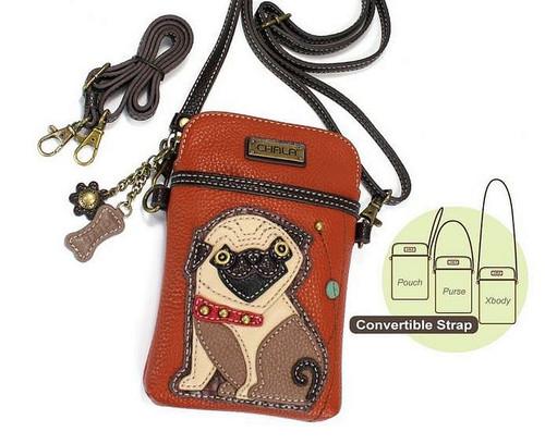Pug Cell Phone Xbodyby Chala Handbags