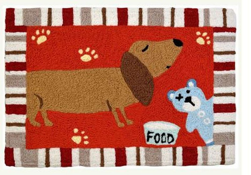 """Jelly Bean Indoor/Outdoor Accent Rug Rug Size: 20"""" x 30"""" Rug Content: 100% Polyester"""