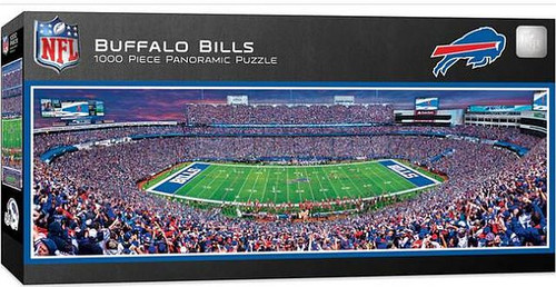 NFL Buffalo Bills-Bills 1000 Piece Panororamic Puzzle