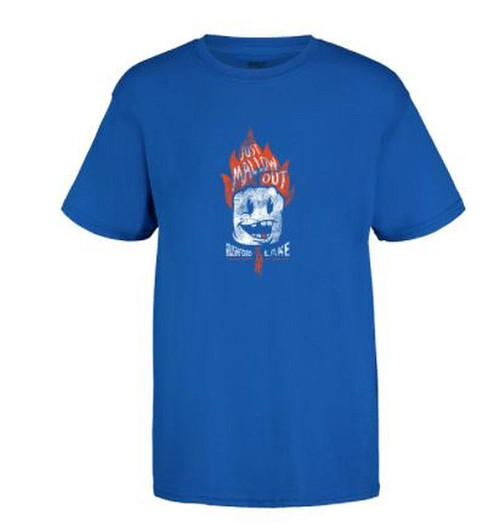 Rushford Lake Just Mallow Out Youth Classic Tee  Color:Royal Short Sleeve Tee 100% Cotton