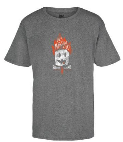 Rushford Lake Just Mallow Out Youth Classic Tee  Color:Graphite Short Sleeve Tee 100% Cotton