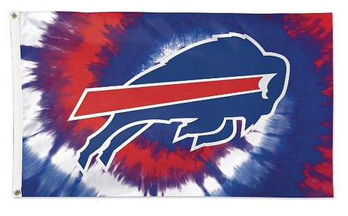 NFL Buffalo Bills 3' x 5' Grommet Flag  Official License Product  Made in the USA  Will not work on a Wooden House Flag Pole