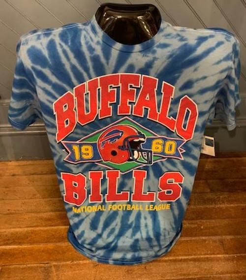 NFL Buffalo Bills Vintage Cali Blue Tie Die Shirt