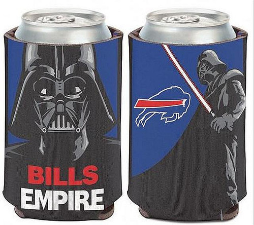"""The can cooler fits a 12 oz can and is made of high density 1/8"""" foam to keep your beverage cool Collapses for easy storage Officially licensed By NFL & Disney Made in the USA"""
