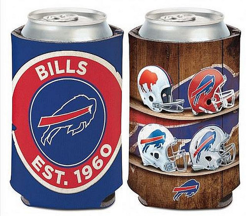NFL Buffalo Bills  Evolution Of Helmets  Can Cooler
