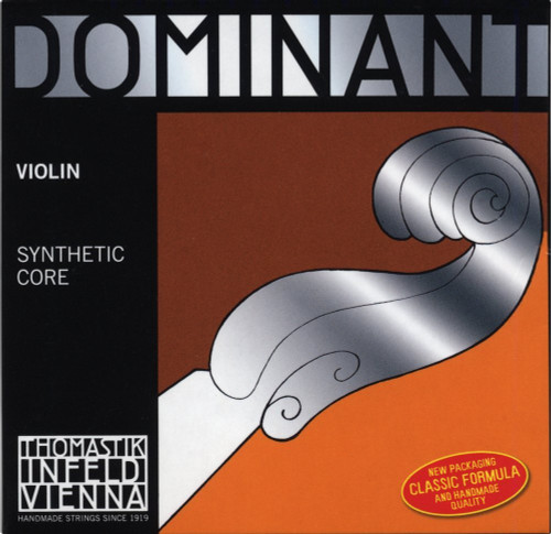 Thomastik Dominant 135B Violin String Set 4/4 Size Ball E