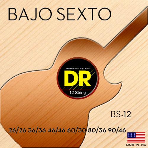 DR BS-12 Bajo Sexto Strings