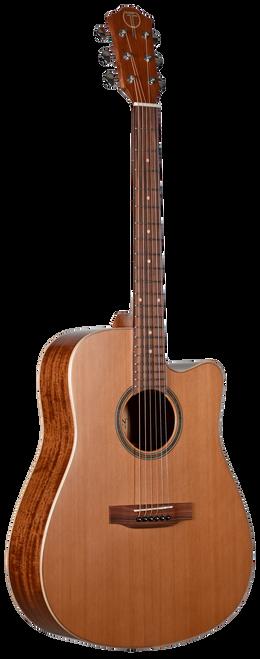 Teton Acoustic Guitar STS105CENT Front View