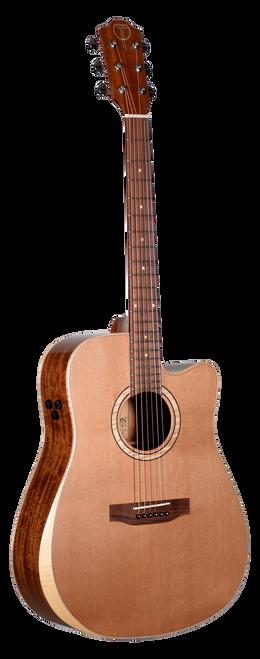 Teton Acoustic Guitar STS105CENT-AR Front View