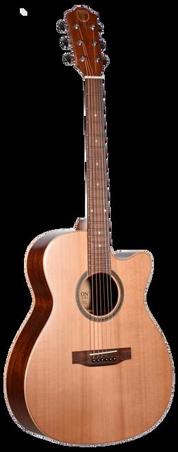 Teton Acoustic Guitar STG105CENT Front View