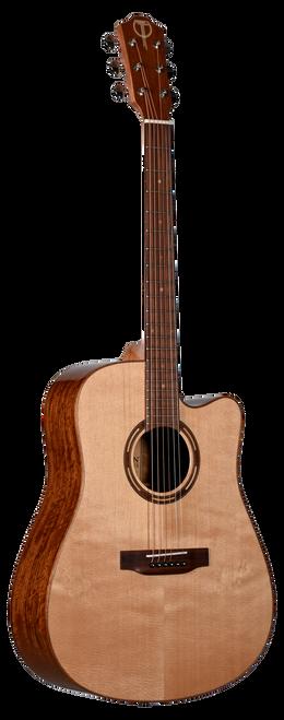 Teton Acoustic Guitar STS110CENT Front View